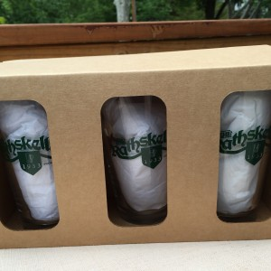 6 pack Skeller glasses