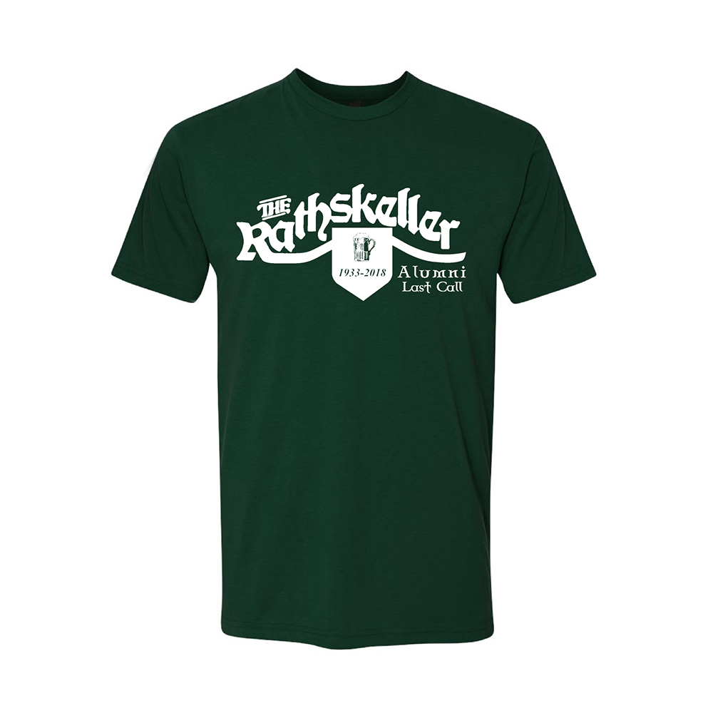 The All American Rathskeller Rathskeller Alumni Last Call T Shirt